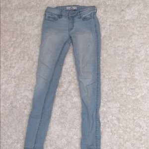 Hollister skinny jeans low waisted